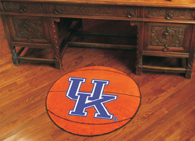 Kentucky Wildcat Basketball Area Rug
