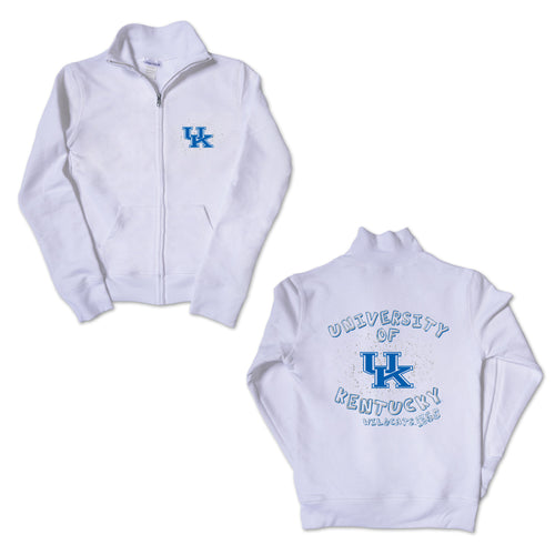 Girl's University of Kentucky Splatter Track Jacket
