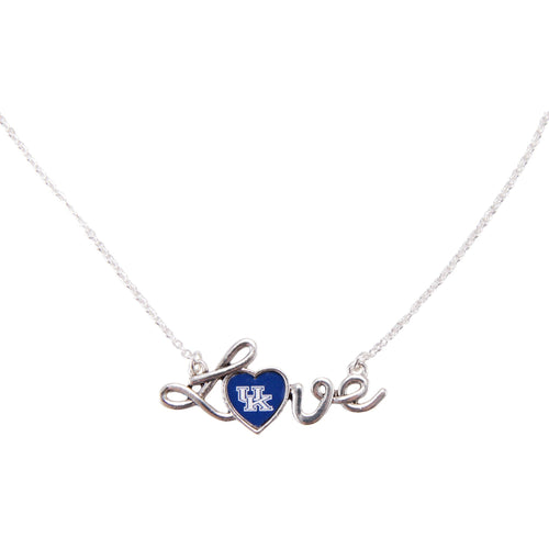 Kentucky Signature Love Necklace