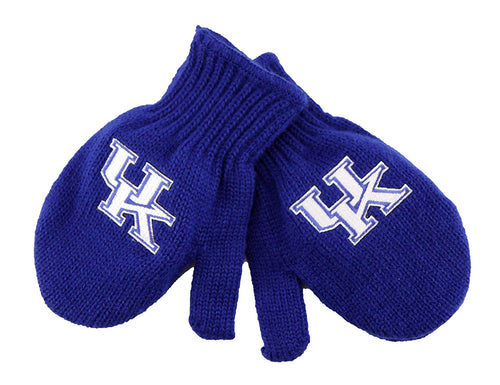 University of Kentucky Junior Knit Mittens