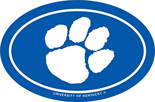 University of Kentucky Oval Paw Decal
