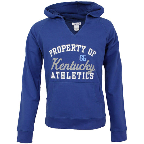 Girl's Comfy Kentucky V-Notch Hoodie