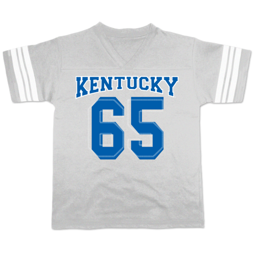 Kentucky Wildcats Girls Youth Football Tee