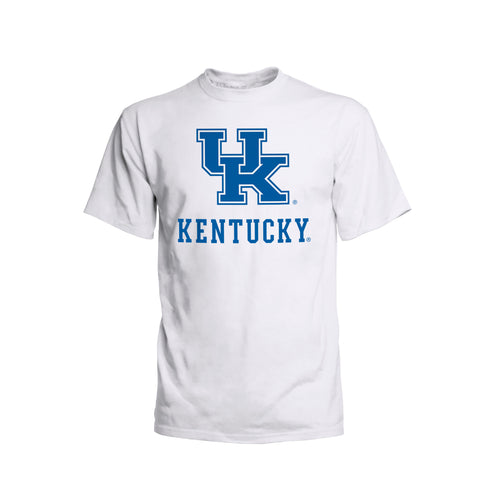 University of Kentucky Youth Interlock Logo Short Sleeve T-Shirt