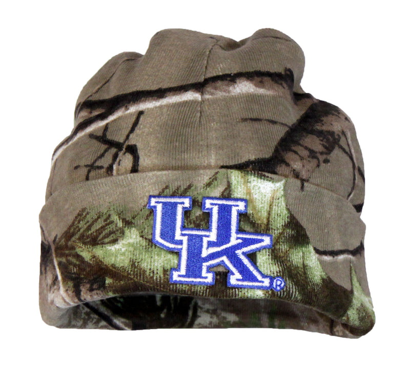 University of Kentucky Newborn Real Tree Knit Beanie