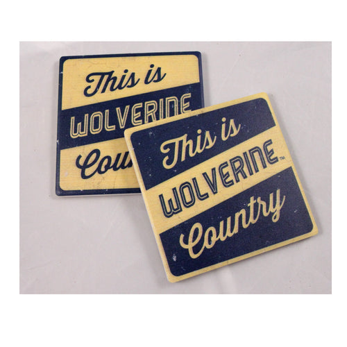 University of Michigan Thirsty Coaster 4-Pack
