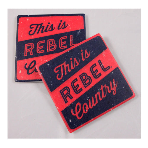 University of Mississippi Thirsty Coaster 4-Pack