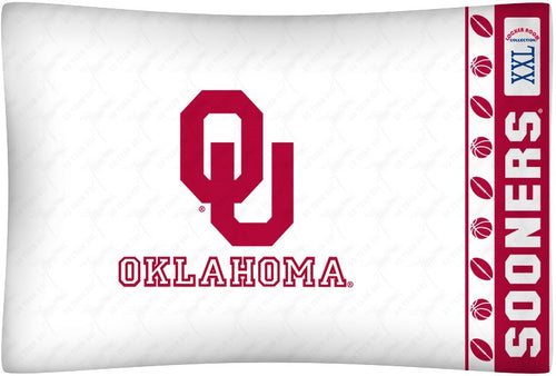 University of Oklahoma Pillowcase