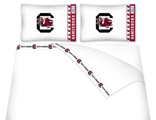 University of South Carolina Microfiber Sheet Set