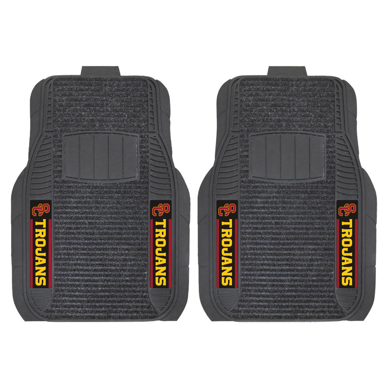 University of Southern California Deluxe Car Floor Mat (Set of 2)
