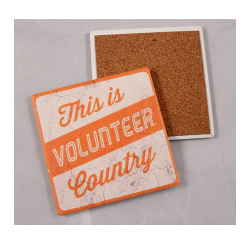 University of Tennessee Thirsty Coaster 4-Pack