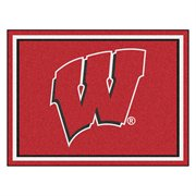 University of Wisconsin Mascot Area Rug