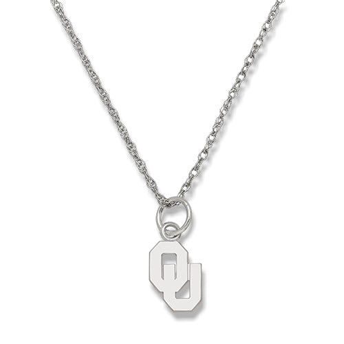 University of Oklahoma Sterling Silver Necklace