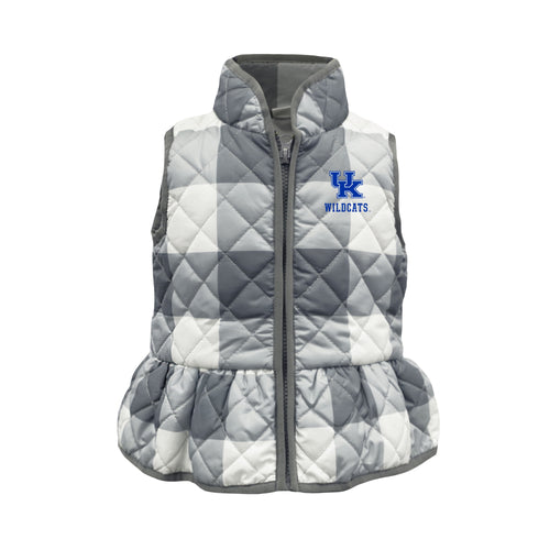 University of Kentucky Wendy Quilted Toddler Vest