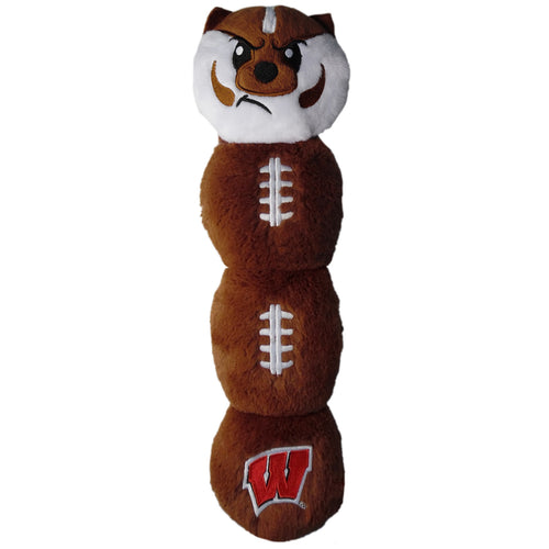 University of Wisconsin Badgers Football Dog Toy