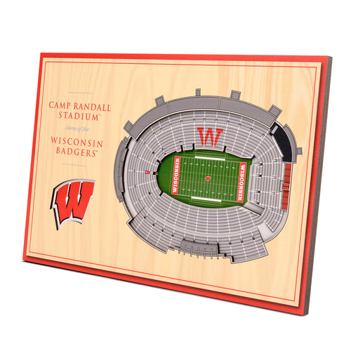 University of Wisconsin 3D Desktop StadiumView - Camp Randall Stadium