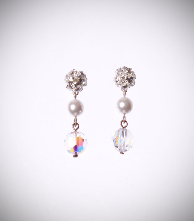 Crystal Stud Drops