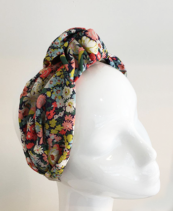 Forest Bloom Liberty Print Turband