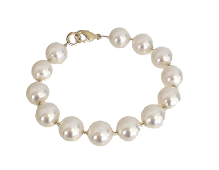 Natural Pearl coloured Bracelet