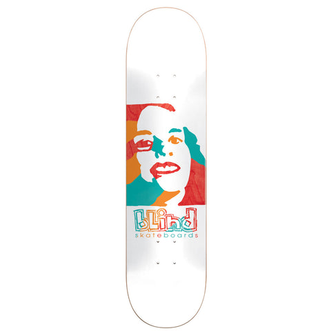 BLIND PSYCHEDELIC GIRL DECK-8.0 WHITE