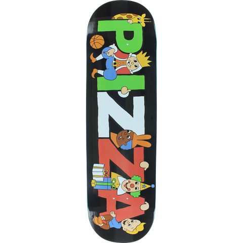 PIZZA PARTY DECK-8.5 BLACK