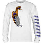 BONES LOCKWOOD DRAGON L/S WHITE