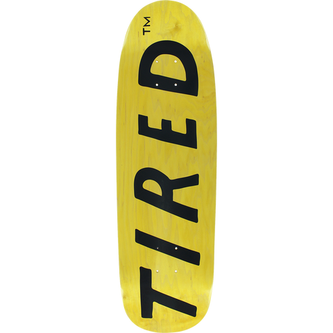 TIRED UPPERCASE LOGO ON SIGAR DECK-9.25x32