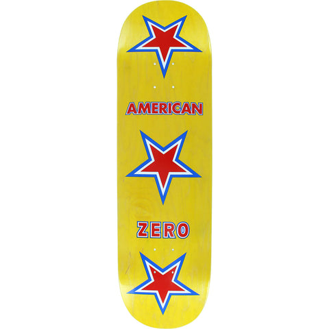 ZERO AMERICAN ZERO DECK-8.62 YELLOW