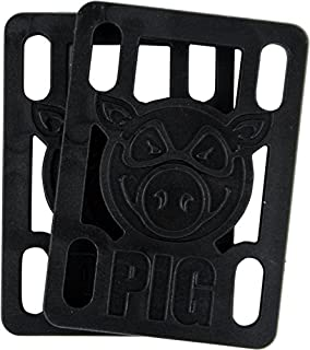 "PIG 1/2"" RISERS BLACK single set"