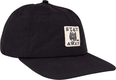 CREATURE STAY AWAY HAT ADJ-BLACK