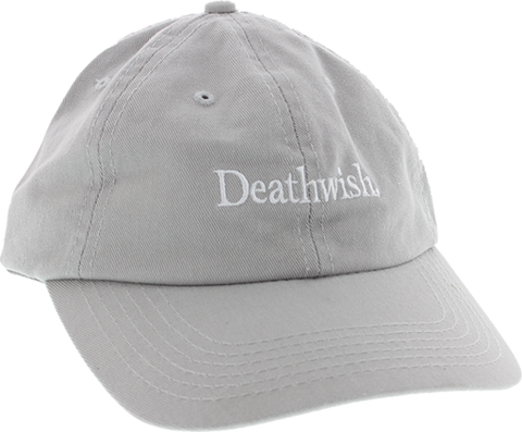 DEATHWISH TOO MUCH HAT ADJ SILVER