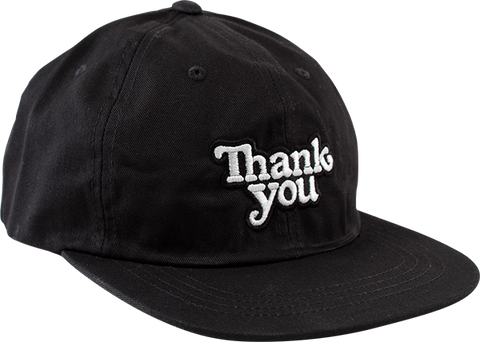 THANK YOU LOGO ADJ-BLACK/WHT