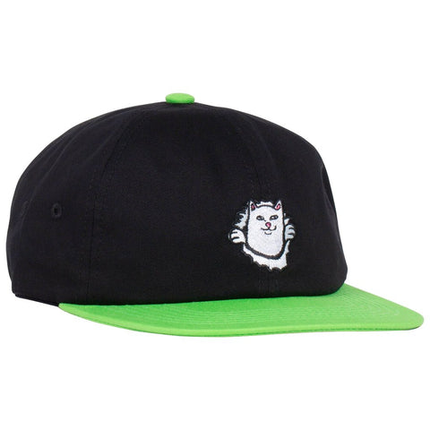RIPNDIP - Nermamaniac 6 Panel - Black / Green