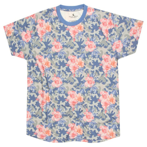 SOUTH CROSS Rose Camo Slim Fit Tee