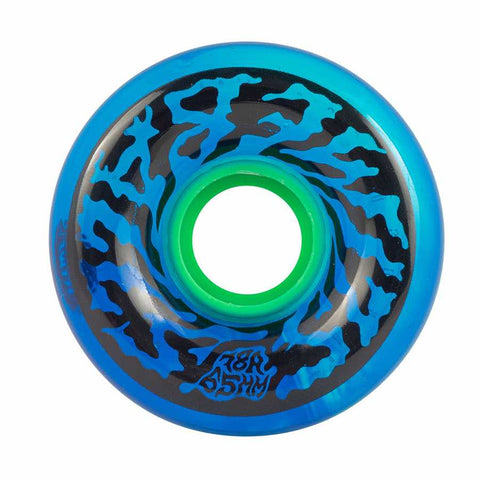 SC SLIMEBALLS SWIRLY 65mm 78a TRANS BLUE