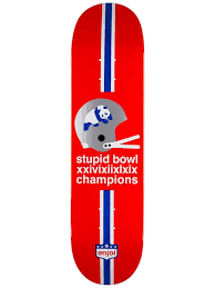 ENJOI CHAMPS DECK - 8.25 RED