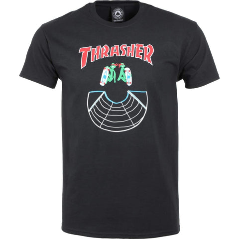 THRASHER DOUBLES SS BLACK