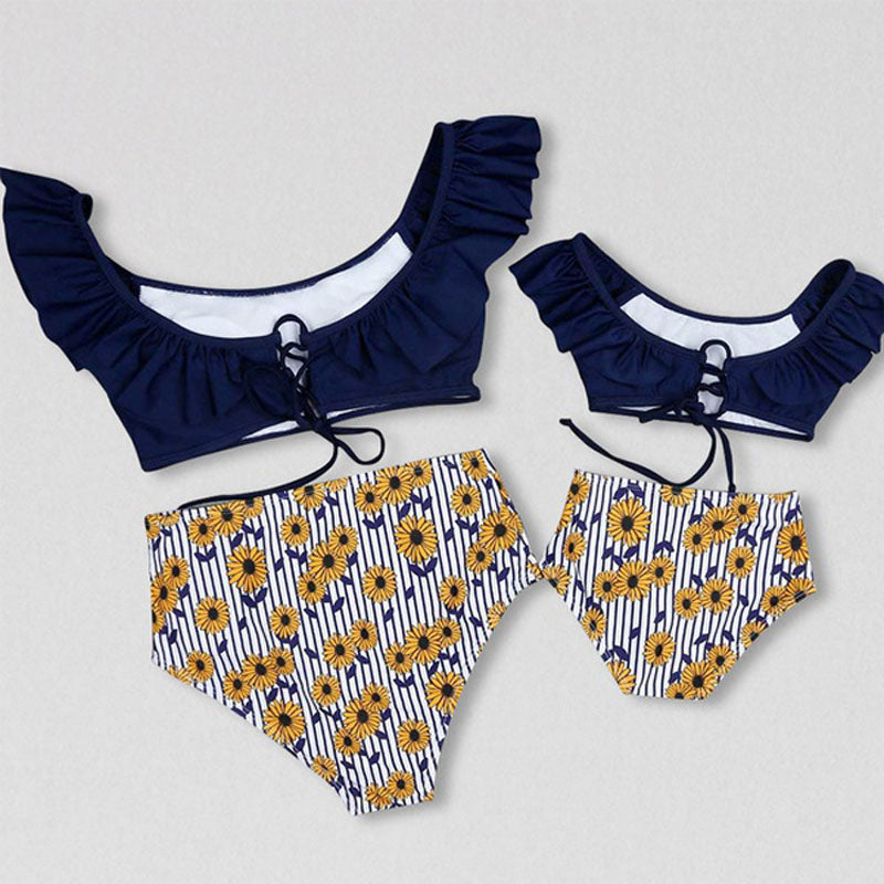 5dee75f79b Family Matching Outfits Mother Daughter father son Bikini Set