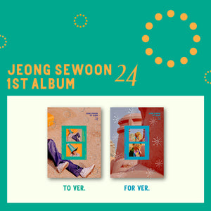 JEONG SEWOON 1st Album - 24 (Set Ver.) 2CD + 2Poster