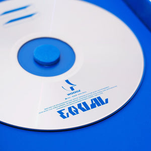 WOODZ 1st Mini Album - EQUAL (COSMIC ver.) CD + Poster