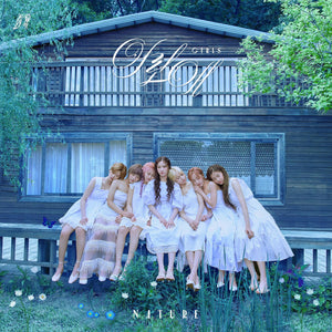 NATURE 3rd Single Album - NATURE WORLD CODE: M CD