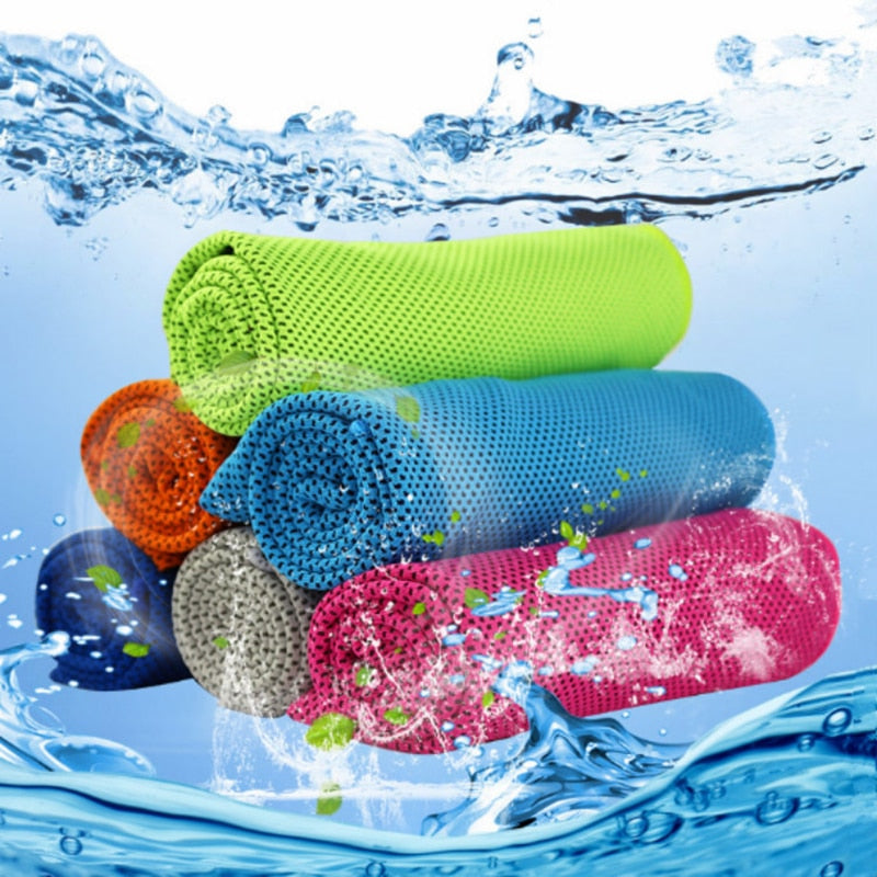 Instant Cooling Yoga Towel
