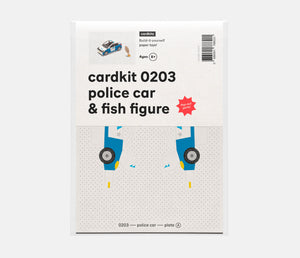 police car & fish figure