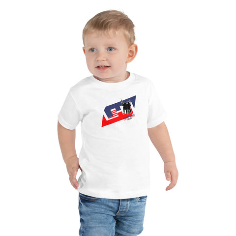 USA logo Toddler Short Sleeve Tee