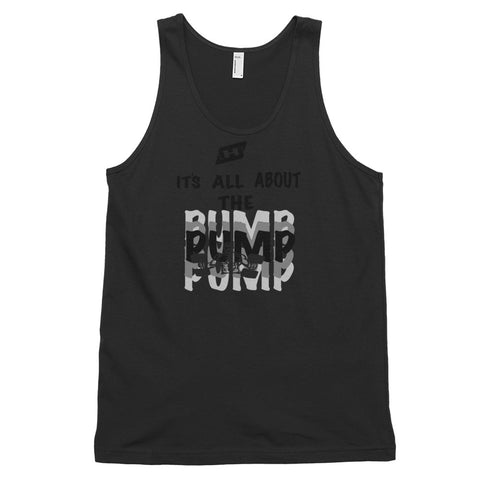 The pump Classic tank top (unisex)