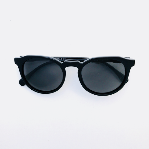 Hillwood -  Black frame with Charcoal (Pentoptic®️) lens