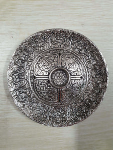 2 Large Round Incense Holder