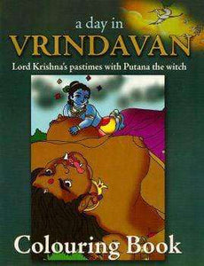 A Day In Vrindavan Colouring Book