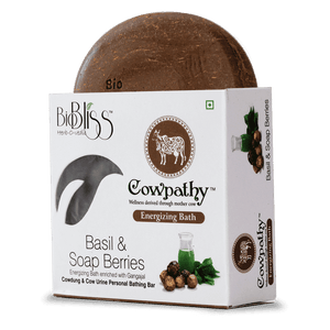 Cowpathy - Basil and Soap Berries 75g (Energizing Bath)