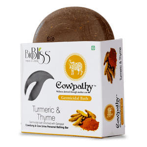 Cowpathy - Turmeric and Thyme 75g (Germicidal Bath)